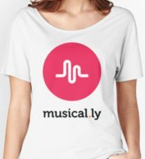 Musical.ly symbol Women's Relaxed Fit T-Shirt