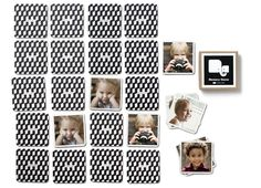 Memory Game with your own photos $20 - way cute!
