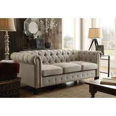 Shop for DG Casa Southampton Beige Sofa. Get free shipping at Overstock.com - Your Online Furniture Outlet Store! Get 5% in rewards with Club O! - 20932679