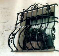 Manufacture Wrought Iron Windows Grill - Buy Manufacture Wrought Iron Windows Grill,Wrought Steel Windows Guard,Outdoor Metal Railings Product on Alibaba.com
