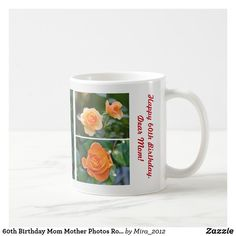 #mothersbirthday #giftsformom #giftsformother #giftsformothersbirthday #photomugformom #photomugformother #mugformothers #mugformom #mugformother #60thbirthday #60thbirthdaymom #mugformomroses #mugformotherroses #rosesformom #rosesformother Happy 60th Birthday, Mother Birthday, Mother Photos, Dear Mom, Personalized Products, Gifts For Mom, Create Your Own, Coffee Mugs, Joy