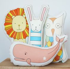 Kate Durkin's new animal designs #Incy Interiors #Dream Children's room
