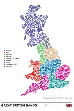 bandas británicas