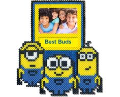 Minion Photo Frame Perler Project Pattern