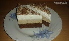 Najlepšie gaštanové rezy - recept | Varecha.sk Vanilla Cake, Tiramisu, Food And Drink, Ethnic Recipes, Desserts, Bakken, Tailgate Desserts, Deserts, Postres