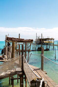 Ristorante Trabocco Cungarelle in Vasto Marina (Abruzzo), Italy