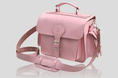 stylish camera bags for women photographers | The pink edition of our best selling leather camera bag puts