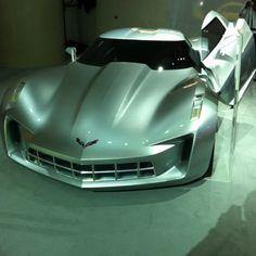 Corvette concept. #Cars #Speed #HotRod