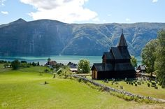 Stave Church of Urnes, Norway, in my grandfather's village.