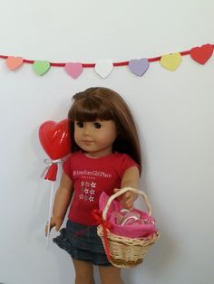 American Girl Doll Crafts and Fun!: Valentine's Day Crafts