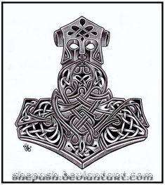 thors hammer viking deviant art - Google Search