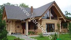 Case din busteni   Cabane din lemn rotund   Proiecte case   Casute de vacanta   - YouTube