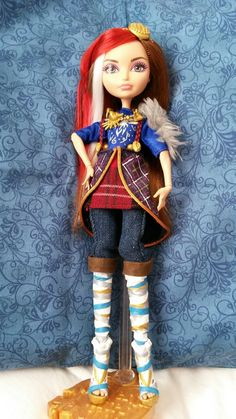 Ramona bad wolf customized doll