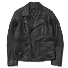blackmeans Quilted Sheep Leather Moto Riders Jacket