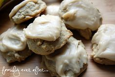 Family Ever After....: Banana Cookies