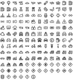 Native line icons pack - Round Icons Premium All Icon, Icon Set, Bullet Journal Icons, Icon Tattoo, Cheap Carpet Runners, Icon Pack, Line Icon, Cute Tattoos, Icon Design