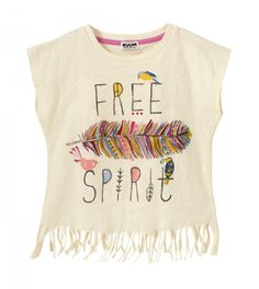 Fringe Graphic Tee