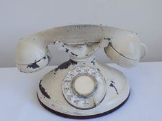 Vintage 1930's Western Electric Rotary Dial Telephone Antique Style