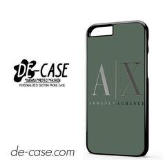 Armani Exchange DEAL-958 Apple Phonecase Cover For Iphone 6 / 6S