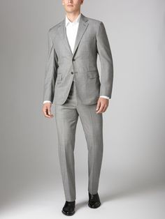 Wool Pindot Suit by Martin Greenfield on Gilt.com