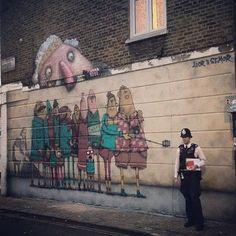 "Ador & Semor ""sightseeing"" London 2015. @the_semor #police#sightseeing#queen#elisabeth#london#ador#semor"