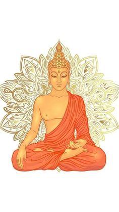 Buda Wallpaper, Mobile Wallpaper, Wallpaper Backgrounds, Buddhism Wallpaper, Buddha Wallpaper Iphone, Buddha Painting, Buddha Art, Buddha Tattoo Design, Buddha Tattoos