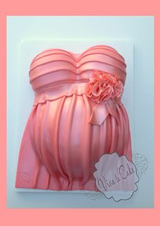 How to make a Tummy Mommy cake for a baby shower. Many pics and how to. LOOve it !!!