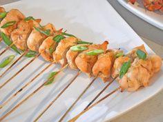 Gingered Pineapple Chicken Skewers Recipe : Aida Mollenkamp : Food Network - FoodNetwork.com
