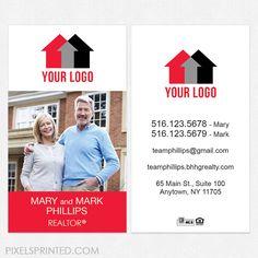independent real estate business cards - Modern Real Estate Business Cards