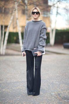 Ways to wear the flare jeans - HEELS & PEPLUM