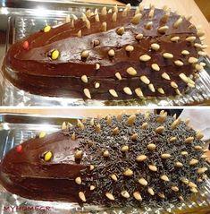 Hedgehog Cake, Sweet Recipes, Firewood Storage, Pudding, Chocolate, Sweet Dreams, Cooking, Desserts, Food