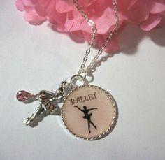 Beautiful Ballerina Necklace   HopesandDreamsStudio - Jewelry on ArtFire