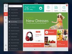 iPad Flat Ui by Garin Zhou