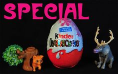 SPECIAL! 24 Kinder Surprise Eggs for GIRLS!  Including Disney FROZEN, Pa...