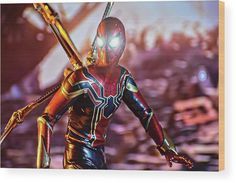 The Iron Spider Infinity War Acrylic Print by Jeremy Guerin. All acrylic prints are professionally printed, packaged, and shipped within 3 - 4 business days and delivered ready-to-hang on your wall. Choose from multiple sizes and mounting options. Prints For Sale, Art For Sale, Iron Spider Suit, Stealth Suit, Picture Comments, Acrylic Artwork, Thing 1, Spiderman Art, Fantastic Art