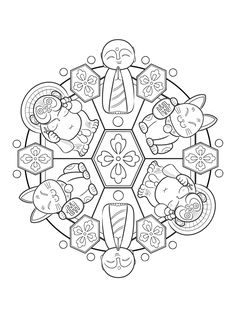 131 Best Mandala Coloring Pages Images On Pinterest