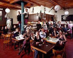Le Café de Grancy, Lausanne, Switzerland
