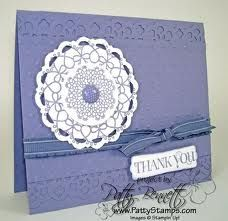 stampin' up delicate doilies stamp set - Google Search