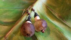 Ohrschmuck aus Glasperlen 10€ www.katrinlenz.de
