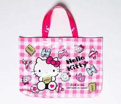 Hello Kitty Laminated Tote Bag: Sweets