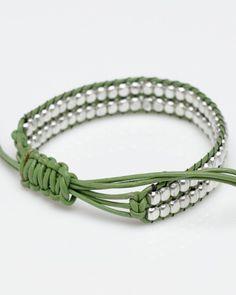 Double Bead Bracelet #Beading #Jewelry #Tutorials