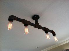 Pipe light fixture