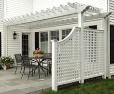 Alfresco Cellular PVC Pergola - modern - gazebos - other metro - Walpole Outdoors
