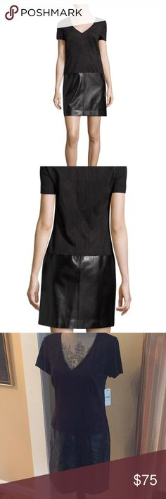 Champagne Leather Dress