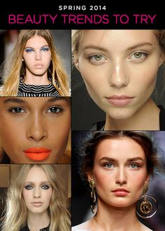 Spring 2014: 5 Beauty Trends To Try