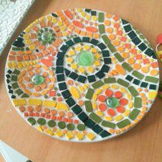 Mosaic Art Projects, Mosaic Crafts, Mosaic Ideas, Creative Design, Creations, Sink, Christmas Tree, Holiday Decor, Wood