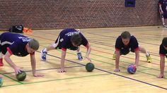 This cooperation exercise is best used as a warm up game to prepare your players for a physically demanding session. Players are required to maintain a stabl. Volleyball Training, Volleyball Drills, Coaching Volleyball, Basketball Drills, Basketball Scoreboard, Basketball Birthday, Buy Basketball, Fitness Workouts, Elementary Physical Education