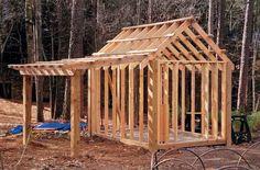 #shed #backyardshed #shedplans 8 ' x 10 ' x 12 ' (width x depth x height) 80 sq. ft.