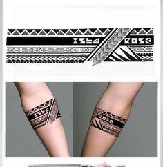 Armband Tattoo Designs for Men Tribal Geometric Armband Tattoo Designs Samoantattoos Tribal Chest Tattoos, Tribal Band Tattoo, Hawaiianisches Tattoo, Forearm Band Tattoos, Tribal Shoulder Tattoos, Tattoos Geometric, Chest Tattoos For Women, Symbol Tattoos, Tattoos For Guys
