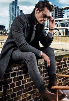David Gandy for Marks & Spencer - Fall David Gandy Style, David James Gandy, Mode Masculine, Madrid, Well Dressed Men, Modern Man, Trends, Perfect Man, Male Models